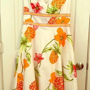 Vintage Donna Ricco New York Halter Dress Size 14